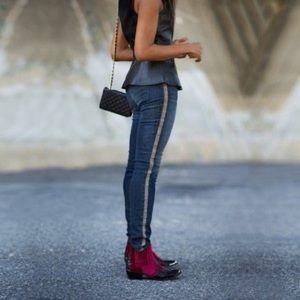J Brand Kacie Mid Rise Skinny Jeans